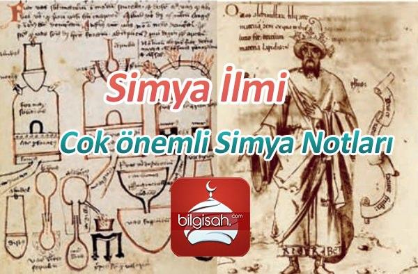 Simya İlmi - Cok önemli Simya Notları
