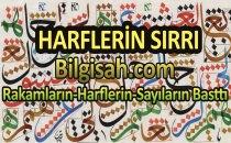HARFLERİN  SIRRI